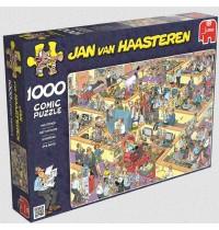 Jumbo Spiele - Puzzle - Jan van Haarsteren - Das Büro, 1000 Teile