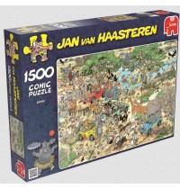 Jumbo Spiele - Puzzle - Jan van Haarsteren - Safari, 1500 Teile