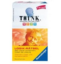Ravensburger Spiel - Mitbringspiel Think Kids - Logik-Rätsel
