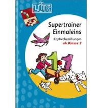 LÜK Supertrainer - Einmaleins