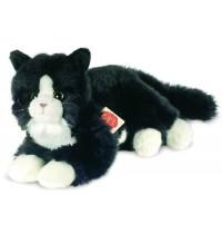 Teddy-Hermann - Katze schwarz, 25 cm