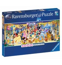 Ravensburger Puzzle - Panorama - Disney™ Gruppenfoto, 1000 Teile