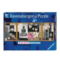 Ravensburger Puzzle - Triptychon: Wellness, 1000 Teile