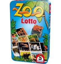 Schmidt Spiele - Zoo Lotto in Metalldose