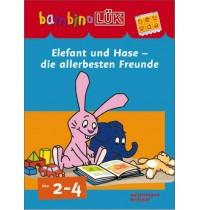 bambinoLÜK - Set Elefant und Hase - die allerbeste Freunde