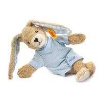 Steiff - Babywelt - Kuscheltiere für Babys - Hoppel Hase, blau, 20cm