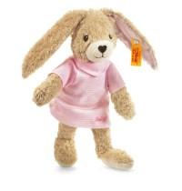 Steiff - Babywelt - Kuscheltiere für Babys - Hoppel Hase, rosa, 20cm