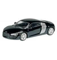 Schuco - Audi R8, schwarz 1:87