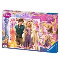Ravensburger Puzzle - Rapunzel, 3x49 Teile