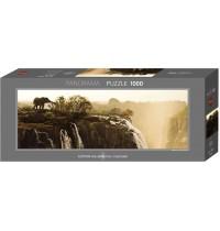 Heye - Panoramapuzzle 1000 Teile - Alexander von Humboldt, Elephant