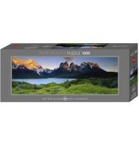Heye - Panoramapuzzle 1000 Teile - Alexander von Humboldt, Cuernos del Paine
