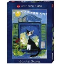 Heye - Standardpuzzle 1000 Teile - Rosina Wachtmeister, Window