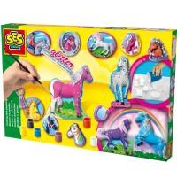 SES Creative - Pferdeset gießen und anmalen