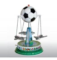 Wilesco - Fußballkarussel mit 3 Gondeln