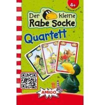 Amigo Spiele - Der kleine Rabe Socke - Quartett