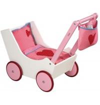 HABA® - Selection - Puppenwagen mit Tasche und Nuckelflasche