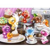 Ravensburger Puzzle - Frühstückskaffee, 500 Teile