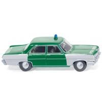 Wiking - Opel Kapitän A Polizei Hessen
