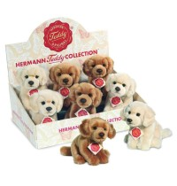 Teddy-Hermann - Golden Retriever, 2-farbig sortiert, 15 cm