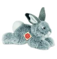 Teddy-Hermann - Hase liegend grau, 28 cm