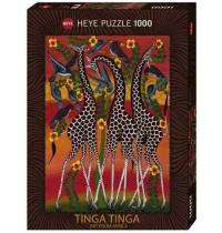 Heye - Standardpuzzle 1000 Teile - Edward Saidi Tingatinga, Giraffes