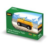 BRIO Bahn - Frachtlok (batteriebetrieben)