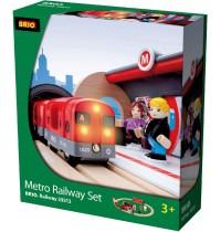 BRIO Bahn - Metro Bahn Set
