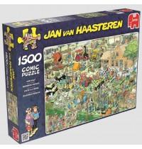Jumbo Spiele - Puzzle - Jan van Haarsteren - Der Bauernhof, 1500 Teile