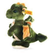 Steiff - Steiffs Minis - Steiffs kleine Freunde - Raudi Drachenjunge, grün, 17cm