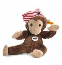 Steiff - Beliebteste Kuscheltiere - Affen - Happy Friend Scotty Affe, braun, 28cm