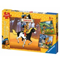 Ravensburger Puzzle - Yakari unterwegs, 3x49 Teile