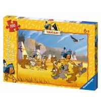 Ravensburger Puzzle - Yakari hat Spaß, 100 Teile
