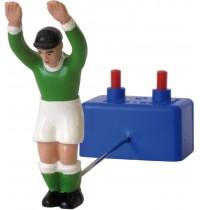 Tipp-Kick Torwart Toni, grün