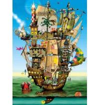 Schmidt Spiele - Puzzle - Colin Thompson - Arche Noah, 1000 Teile