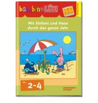 bambinoLÜK - Mit Elefant+Hase durchs Jahr