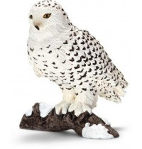 Schleich - World of Nature - Wild Life - Europa - Schnee-Eule