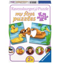 Ravensburger Puzzle - my first Puzzle - Liebenswerte Tiere, 9x2 Teile