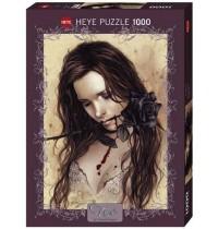 Heye - Standardpuzzle 1000 Teile - Victoria Francés, Dark Rose