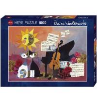 Heye - Standardpuzzle 1000 Teile - Rosina Wachtmeister, Cello