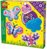 SES Creative - Bügelperlenset duftende Schmetterlinge