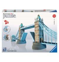 Ravensburger Puzzle - 3D Vision Puzzle - Tower Bridge, 216 Teile
