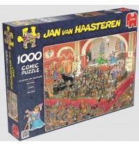 Jumbo Spiele - Puzzle - Jan van Haarsteren - Die Oper, 1000 Teile