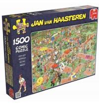 Jumbo Spiele - Puzzle - Jan van Haarsteren - Minigolf, 1500 Teile
