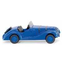 Wiking - BMW 328, signalblau