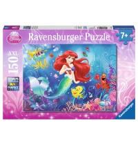 Ravensburger Puzzle - Alle lieben Arielle, 150 XXL-Teile