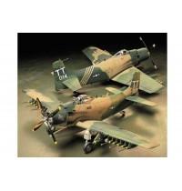 Tamiya - 1:48 Wwii Douglas A-1j Skyrider Usa