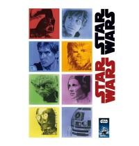 alenio Wandtattoo - Star Wars™ Classic 2, 40x60 cm