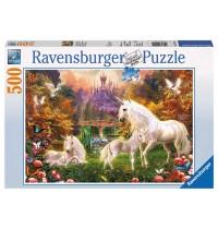 Ravensburger Puzzle - Zauberhafte Einhörner, 500 Teile