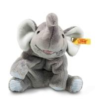Steiff - Steiffs Minis - Steiffs kleine Freunde - Floppy Trampili Elefant, grau, 16cm