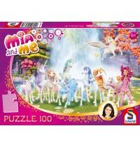 Schmidt Spiele - Puzzle - Mia and me - Centopias Einhörner, 100 Teile